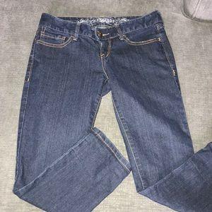 Express Capri Jeans
